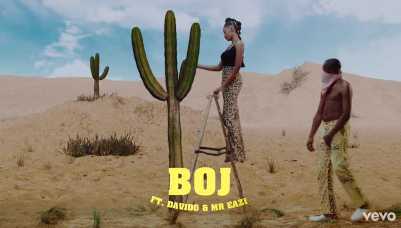 BOJ ft. Davido, Mr Eazi – Abracadabra (Video)