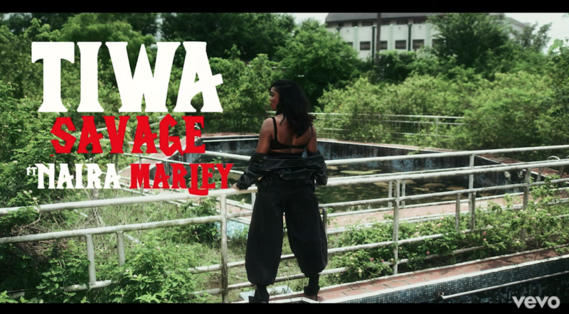 Tiwa Savage ft. Naira Marley – Ole (Video)