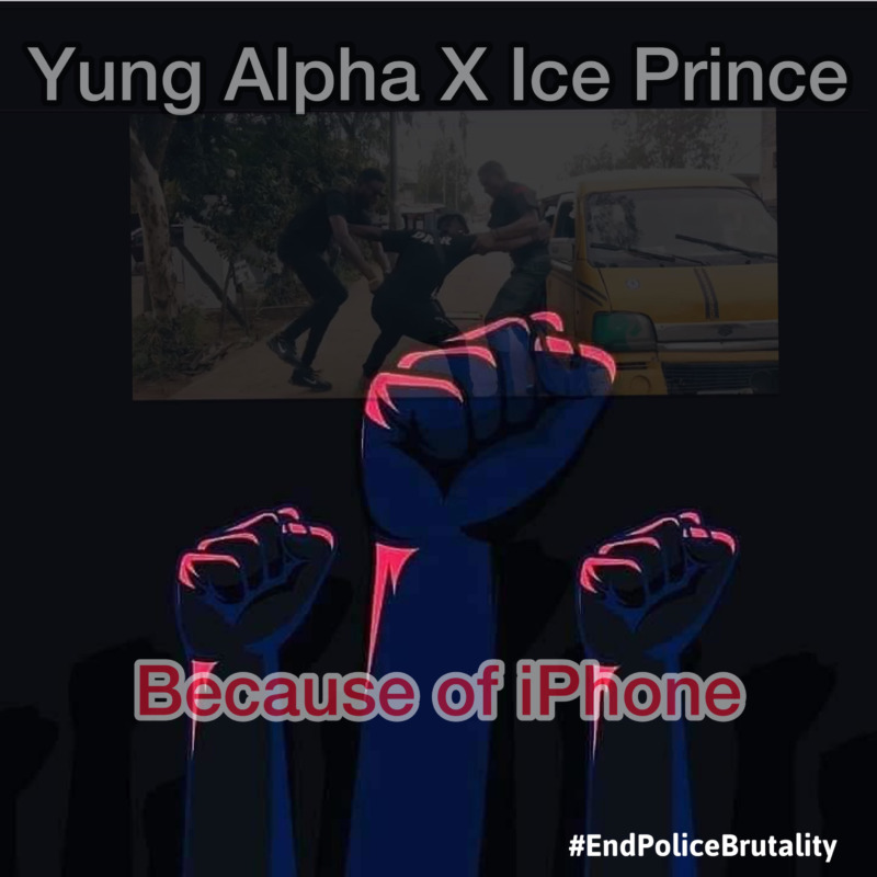 Yung Alpha ft. Ice Prince – Because Of iPhone