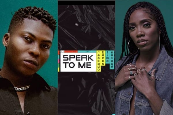 Reekado Banks ft. Tiwa Savage – Speak to Me (Video)