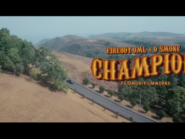 Fireboy DML ft. D Smoke – Champion (Video)