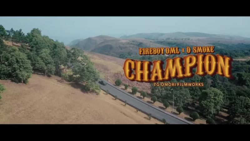 Fireboy DML ft. D Smoke – Champion (Video)