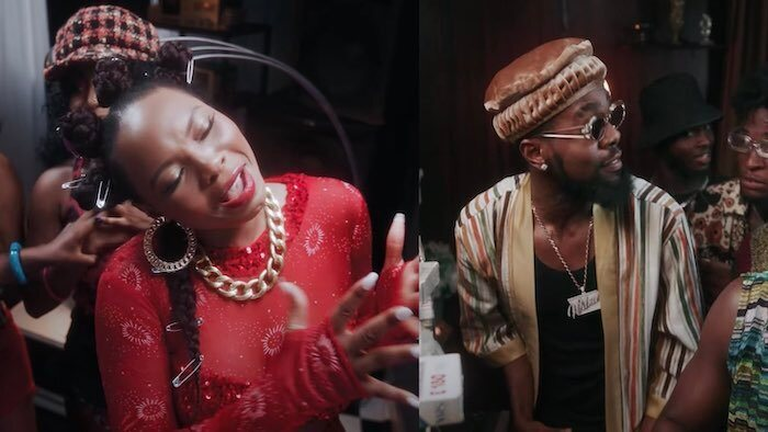 Yemi Alade ft. Patoranking – Temptation (Video)